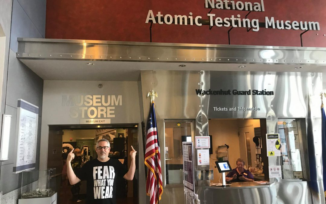 The National Atomic Testing Museum in Las Vegas Officially Partners with Fear What You Wear
